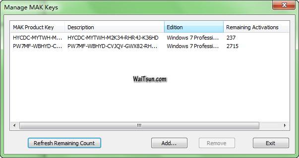 Windows 7专业版和企业版MAK激活密钥-麦氪搜(iMacso.com)