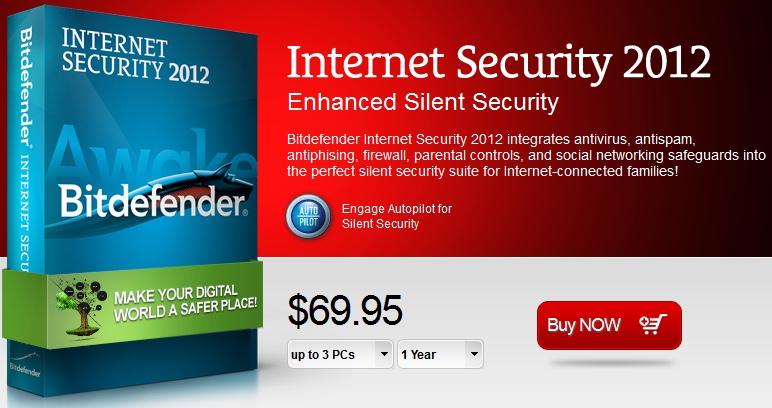 BitDefender Internet Security 2012 简体中文版 + 注册机-麦氪搜(iMacso.com)