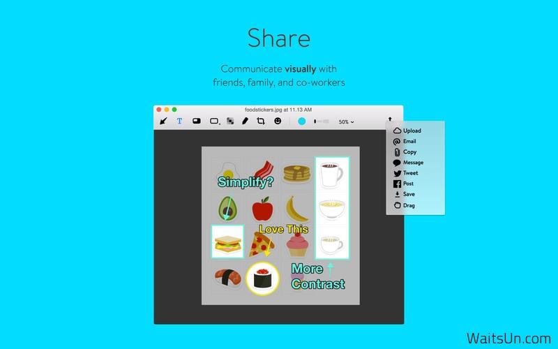Annotate for Mac 2.0.5 破解版 – 优秀的屏幕截图和标注工具-麦氪搜(iMacso.com)