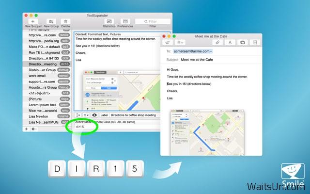TextExpander for Mac 5.1 破解版 – Mac上优秀的文字快速输入替换工具-麦氪搜(iMacso.com)