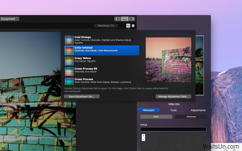 Emulsion for Mac 1.2.1 破解版 – 优秀的图片特效编辑工具-麦氪搜(iMacso.com)