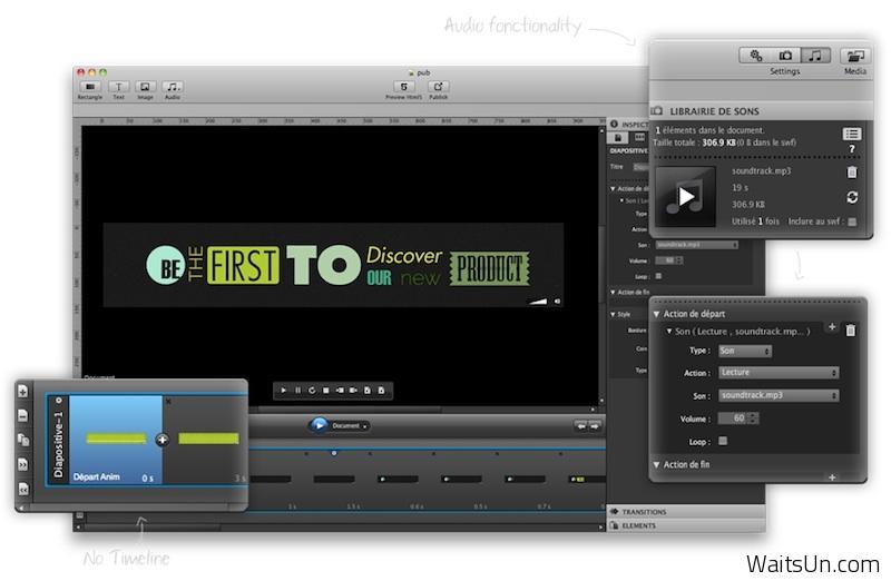 MotionComposer for Mac 1.8.2 破解版 – Mac上优秀的Flash和HTML5动画制作工具-麦氪搜(iMacso.com)