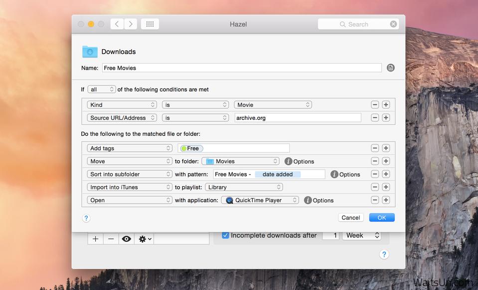 Hazel for Mac 3.3.3 破解版 – 自动帮你整理Mac硬盘上文件-麦氪搜(iMacso.com)