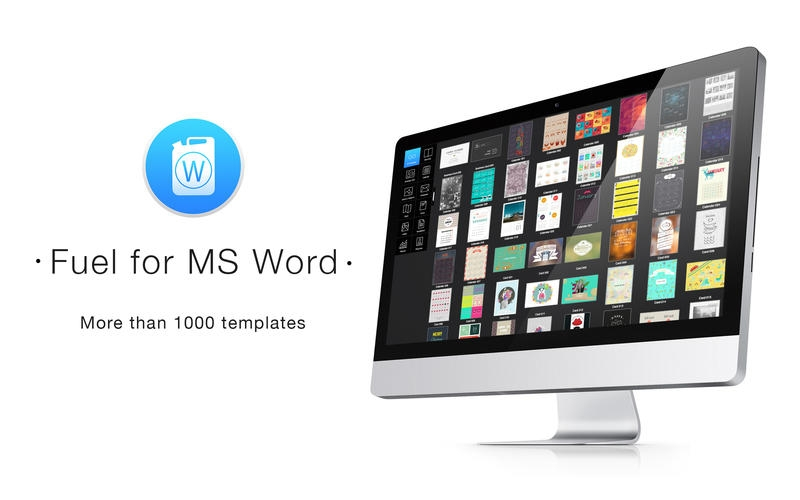 Fuel for MS Word for Mac 15 破解版 – Mac上精美的Word模板合集