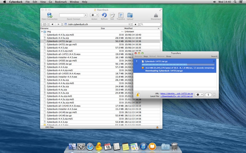 Cyberduck for Mac 4.7 中文破解版 – Mac上优秀的FTP客户端工具-麦氪搜(iMacso.com)