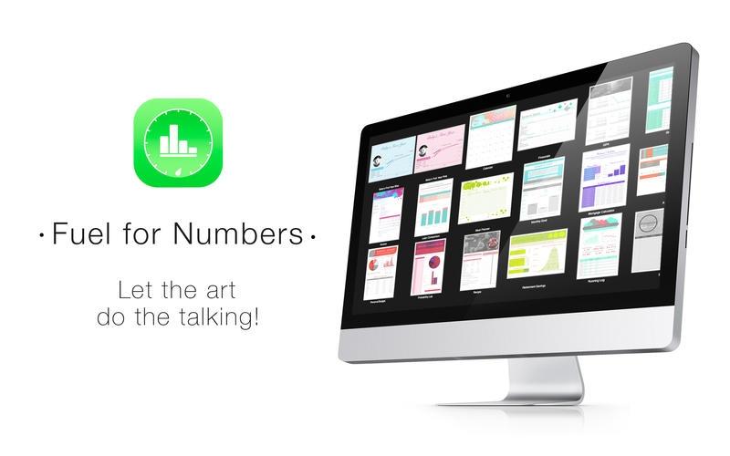 Fuel for Numbers for Mac 1.2 破解版 – 精美的Numbers模板合集-麦氪搜(iMacso.com)
