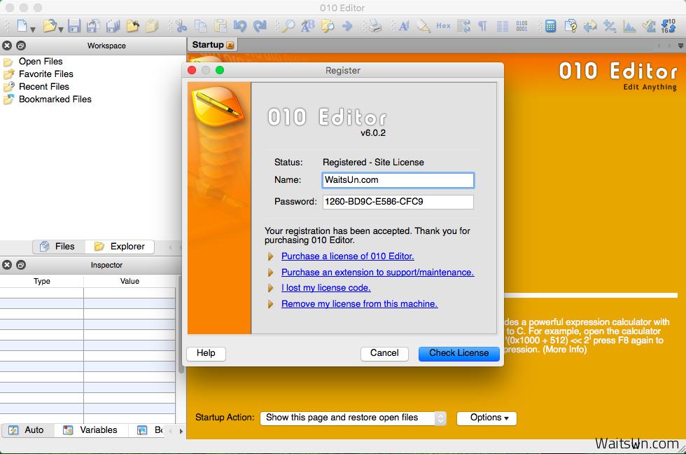 010 Editor Mac 6.0.2 破解版 – 快速且强大的十六进制编辑器