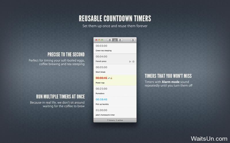 Due for Mac 1.4.1 破解版 – Mac上富有创意的提醒和定时器软件-麦氪搜(iMacso.com)