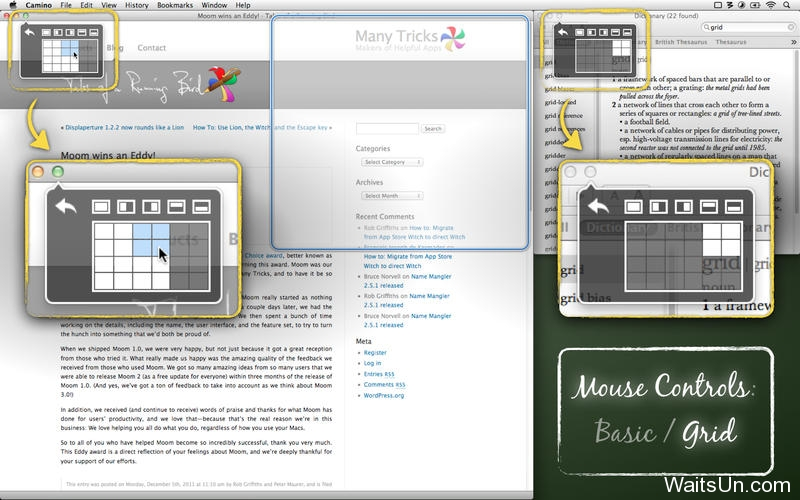 Moom for Mac 3.2.2 破解版 – 实用的窗口大小增强控制工具-麦氪搜(iMacso.com)