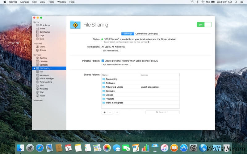 Apple OS X Server for Mac 5.2 激活版 - 人人都能管理服务器
