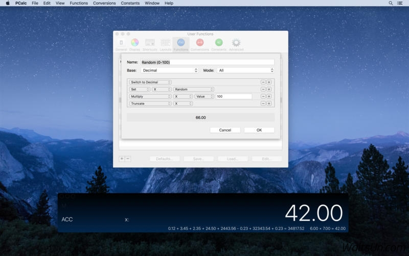 PCalc for Mac 4.3 破解版 – Mac上强大的全功能科学计算器-麦氪搜(iMacso.com)