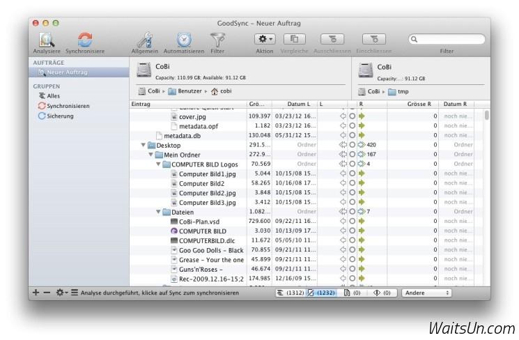 GoodSync Pro for Mac 5.1.3 破解版 – Mac上强大专业的文件同步备份工具-麦氪搜(iMacso.com)