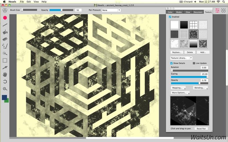 Hexels Pro for Mac 1.2 破解版 – Mac创意的六边形绘图设计工具-麦氪搜(iMacso.com)