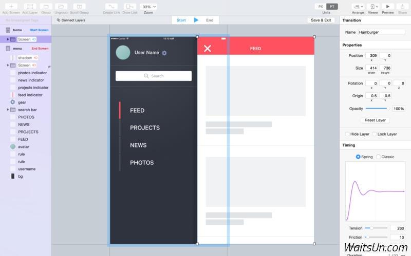 Flinto for Mac 1.0.7 破解版 – 强大的移动应用原型设计工具-麦氪搜(iMacso.com)