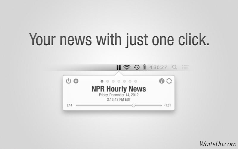 Hourly News for Mac 1.3.5 注册版 – 简单实用新闻客户端-麦氪搜(iMacso.com)
