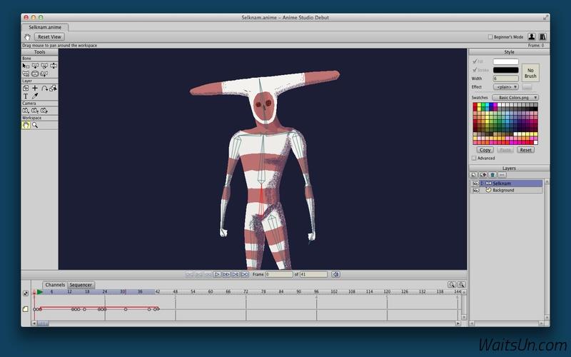 Anime Studio Pro for Mac 11.2.1 序号版 - 强大的动画制作软件