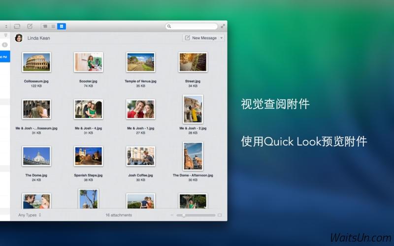 Unibox for Mac 1.5.2 破解版 - 优秀的邮件客户端-麦氪搜(iMacso.com)