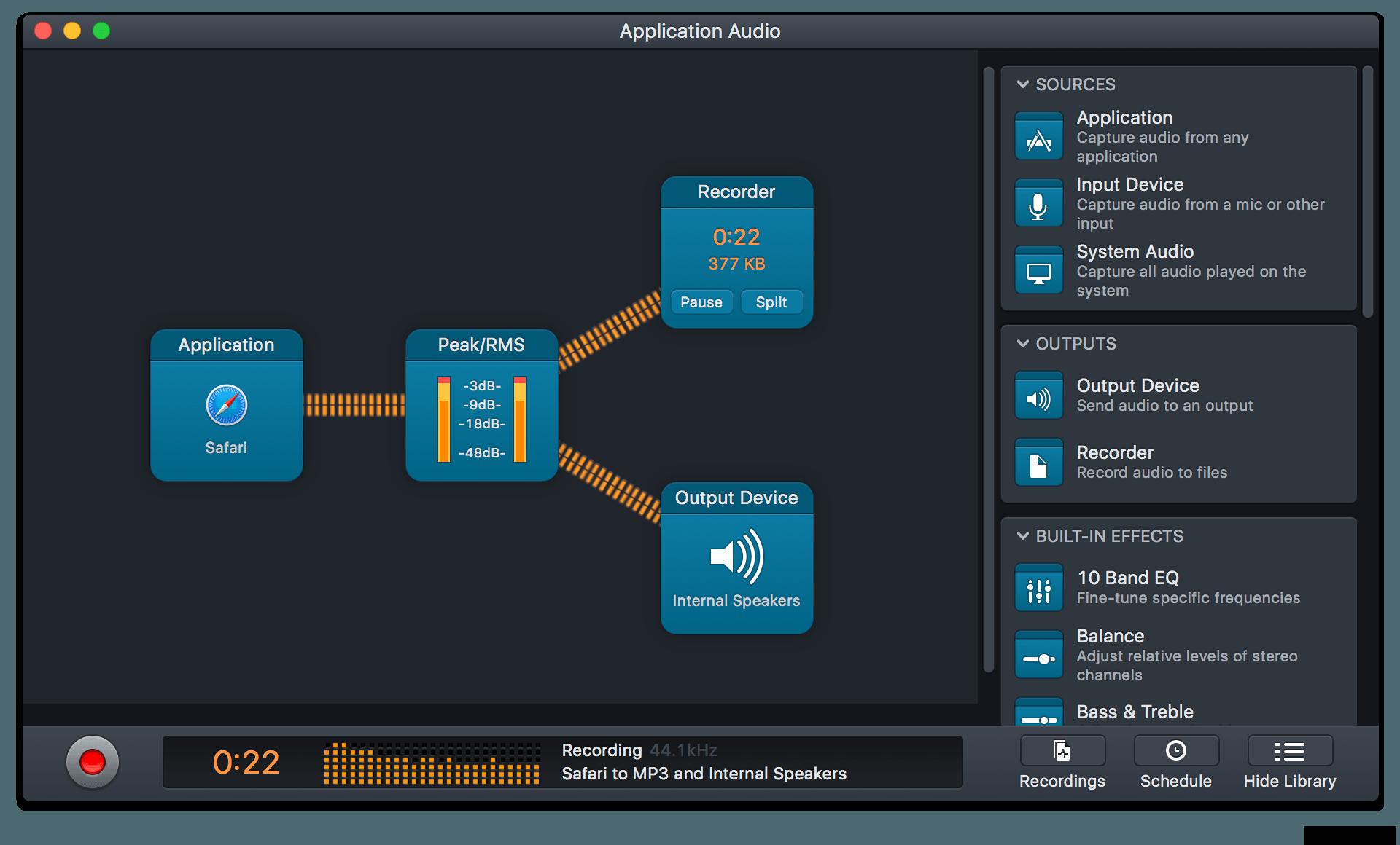 Audio Hijack 3.8.7 Mac 破解版 - 优秀的录音工具