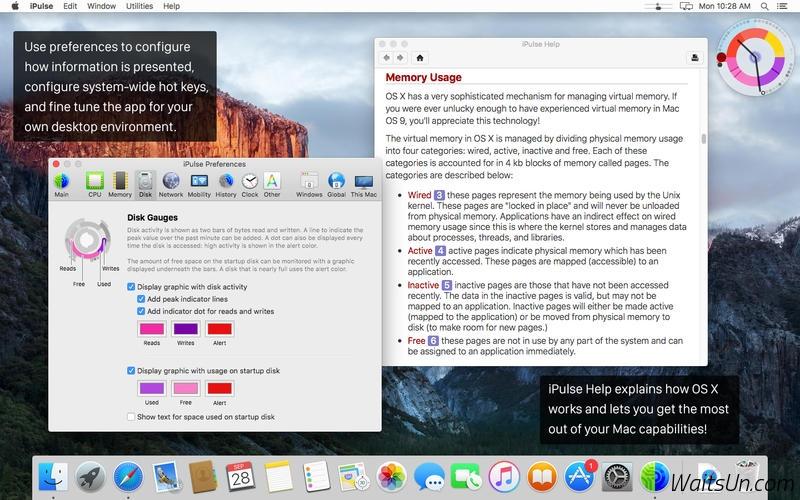 iPulse Mac 破解版 实用的系统监控工具-麦氪搜(iMacso.com)