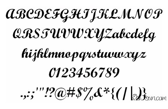 巨好的英文字体下载网站 页面设计必备-麦氪搜(iMacso.com)