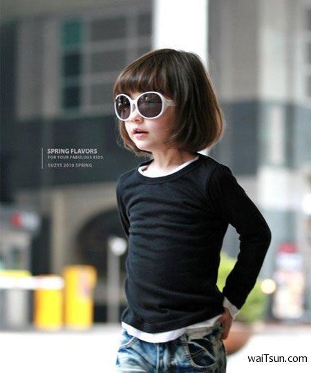 韩美混血双胞胎小萝莉-麦氪搜(iMacso.com)