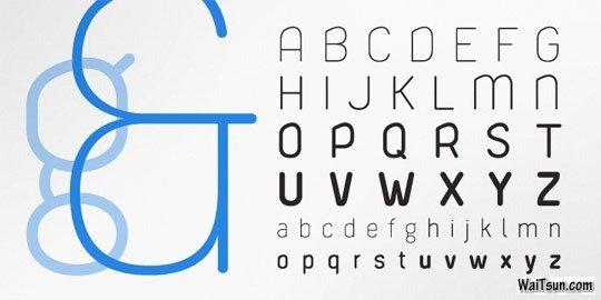 20款清新优雅的英文字体设计素材下载-麦氪搜(iMacso.com)