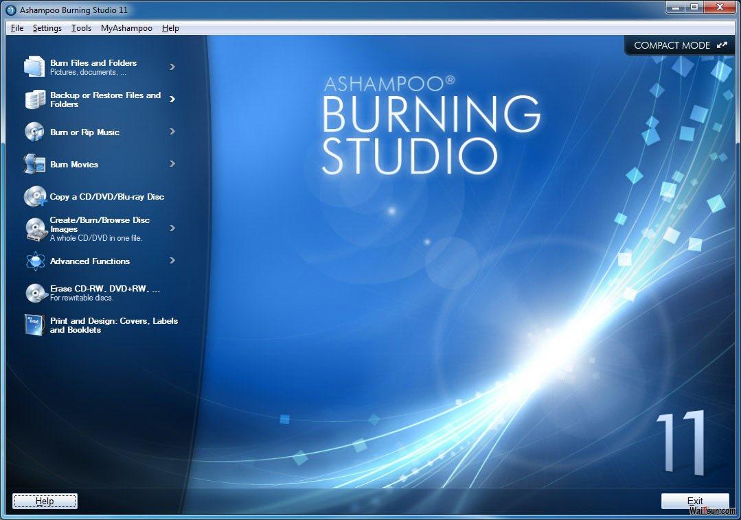 Ashampoo Burning Studio 11简体中文版 + 注册-麦氪搜(iMacso.com)