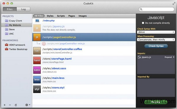 CodeKit 2 for Mac 2.6 破解版 – Mac上强大的Web前端开发神器-麦氪搜(iMacso.com)