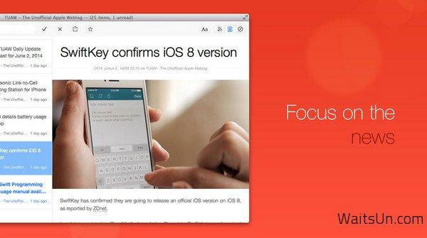 Leaf for Mac 4.6 破解版下载 – Mac上优秀的RSS阅读器-麦氪搜(iMacso.com)