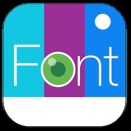 Fontography for Mac 1.0.1 激活版 - 优秀的图片特效添加工具