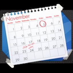 Blotter for Mac 2.2.5 破解版 - 精美的桌面日历工具