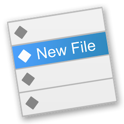 New File Menu 1.5 Mac 中文破解版 Finder右键新建文件工具