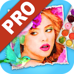 JixiPix Watercolor Studio Pro 1.4.11 Mac 破解版 水彩画图片绘制软件