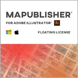 Avenza MAPublisher Mac 破解版 GIS工具无缝集成应用