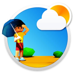 3DWeather 3.5.1 Mac 破解版 非常漂亮的3D动画天气工具