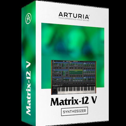 Arturia Matrix-12 V 2.7.1. 1263 Mac 破解版 第一款可编程模拟合成器