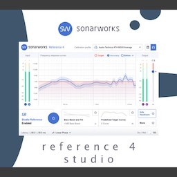 Sonarworks.Reference 4 Studio Edition Mac 破解版 专业的声学校正工具