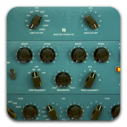 NoiseAsh Rule Tec All Collection Mac 破解版 传奇的无源均衡器