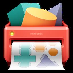 Unfolder Mac 破解版 3D模型展开工具