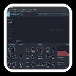 Audio Damage AD046 Quanta 1.1.4 Mac 破解版 粒子合成器插件