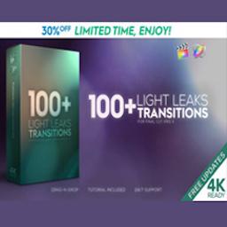 FCPX插件 Light Leaks Transitions Pack Mac 破解版 100种漂亮炫光视频转场