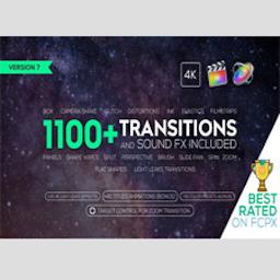 FCPX插件 Videohive – Transitions and Sound FX + Bonus V7 Mac 破解版 转场过渡音效包